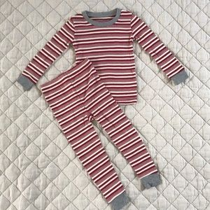 Other - NWOT Burt's Bees Baby peppermint Stripe pajamas